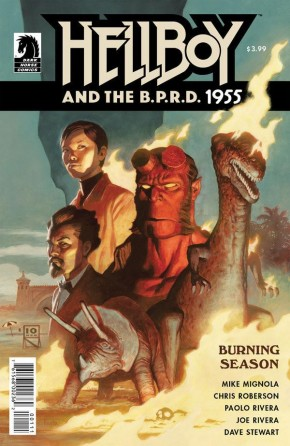HELLBOY AND BPRD 1955 BURNING SEASON ONE SHOT