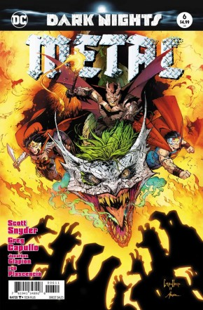DARK NIGHTS METAL #6 FOIL COVER