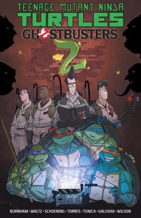 TEENAGE MUTANT NINJA TURTLES GHOSTBUSTERS VOLUME 2 GRAPHIC NOVEL