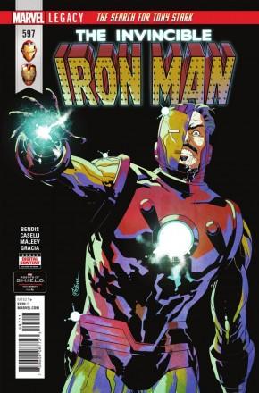 INVINCIBLE IRON MAN #597 (2016 SERIES)