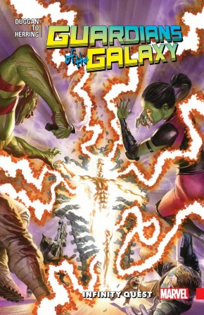 ALL NEW GUARDIANS OF THE GALAXY VOLUME 3 INFINITY QUEST GRAPHIC NOVEL