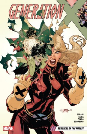 GENERATION X VOLUME 2 SURVIVAL OF THE FITTEST GRAPHIC NOVEL
