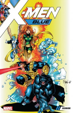 X-MEN BLUE VOLUME 00 REUNION GRAPHIC NOVEL