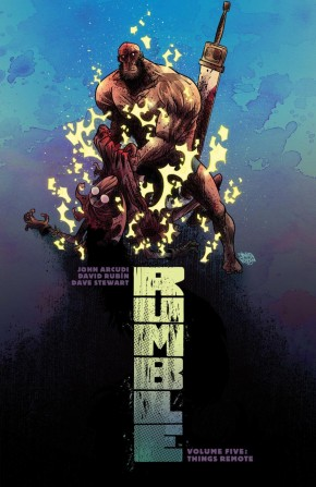 RUMBLE VOLUME 5 THINGS REMOTE GRAPHIC NOVEL