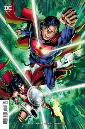 JUSTICE LEAGUE #17 (2018 SERIES) VARIANT