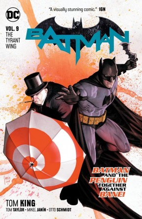 BATMAN VOLUME 9 THE TYRANT WING GRAPHIC NOVEL