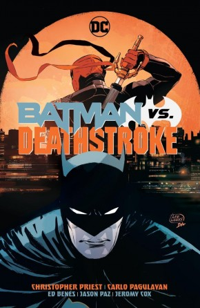 BATMAN VS DEATHSTROKE HARDCOVER