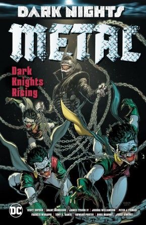DARK NIGHTS METAL DARK KNIGHTS RISING GRAPHIC NOVEL