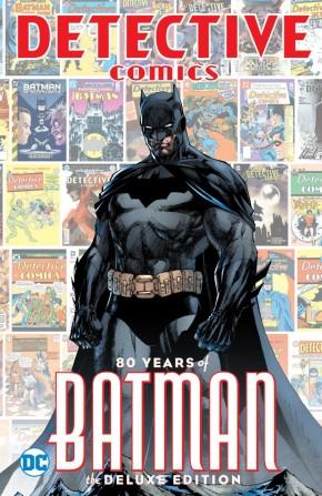 DETECTIVE COMICS 80 YEARS OF BATMAN DELUXE EDITION HARDCOVER