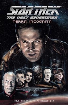 STAR TREK THE NEXT GENERATION TERRA INCOGNITA GRAPHIC NOVEL