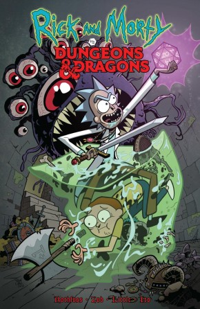 RICK AND MORTY VS DUNGEONS AND DRAGONS VOLUME 1 GRAPHIC NOVEL