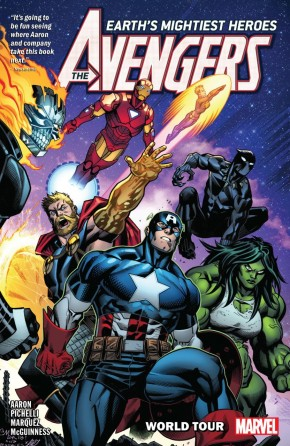 AVENGERS BY JASON AARON VOLUME 2 WORLD TOUR GRAPHIC NOVEL