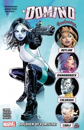 DOMINO VOLUME 2 SOLDIER OF FORTUNE GRAPHIC NOVEL