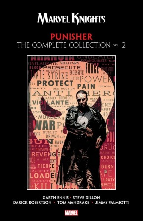 MARVEL KNIGHTS PUNISHER BY GARTH ENNIS THE COMPLETE COLLECTION VOLUME 2 GRAPHIC NOVEL