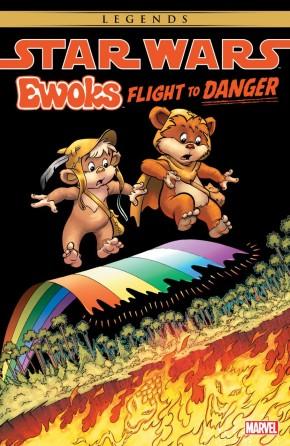 STAR WARS EWOKS FLIGHT TO DANGER GRAPHIC NOVEL