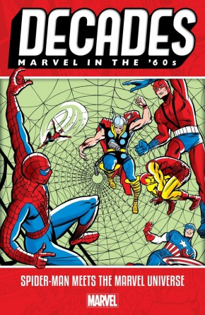 DECADES MARVEL IN THE 60S SPIDER-MAN MEETS THE MARVEL UNIVERSE GRAPHIC NOVEL