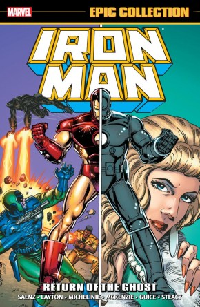 IRON MAN EPIC COLLECTION RETURN OF THE GHOST GRAPHIC NOVEL