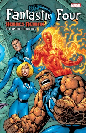 FANTASTIC FOUR THE COMPLETE COLLECTION VOLUME 1 HEROES RETURN GRAPHIC NOVEL