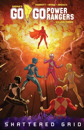 GO GO POWER RANGERS VOLUME 3 GRAPHIC NOVEL
