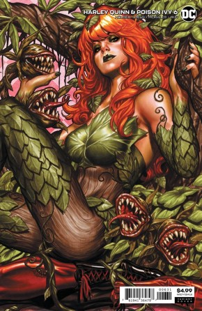 HARLEY QUINN & POISON IVY #6 CARD STOCK POISON IVY