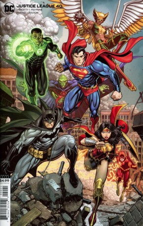 JUSTICE LEAGUE #40 (2018 SERIES) CARD STOCK VARIANT