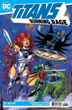 TITANS BURNING RAGE #7