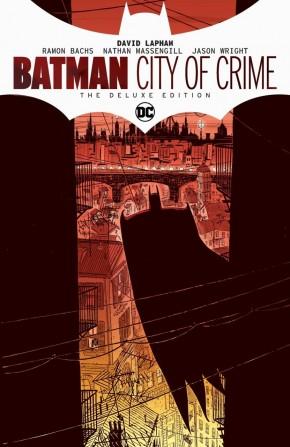 BATMAN CITY OF CRIME DELUXE EDITION HARDCOVER