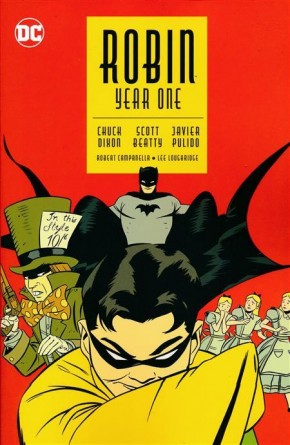 ROBIN YEAR ONE GRAPHIC NOVEL (NEW EDITION)