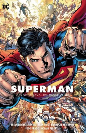 SUPERMAN VOLUME 2 THE UNITY SAGA THE HOUSE OF EL GRAPHIC NOVEL