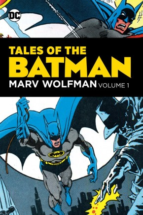 TALES OF THE BATMAN MARV WOLFMAN VOLUME 1 HARDCOVER