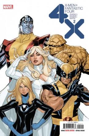 X-MEN FANTASTIC FOUR #2 (2020 SERIES)