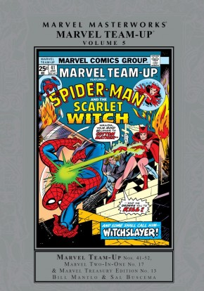 MARVEL MASTERWORKS MARVEL TEAM-UP VOLUME 5 HARDCOVER