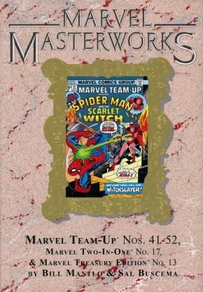 MARVEL MASTERWORKS MARVEL TEAM-UP VOLUME 5 DM VARIANT #291 EDITION HARDCOVER