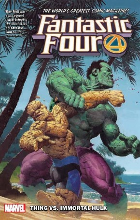 FANTASTIC FOUR VOLUME 4 THING VS IMMORTAL HULK GRAPHIC NOVEL