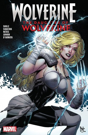 WOLVERINE THE DAUGHTER OF WOLVERINE GRAPHIC NOVEL