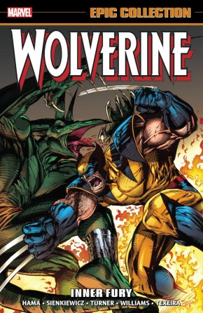 WOLVERINE EPIC COLLECTION INNER FURY GRAPHIC NOVEL
