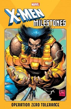 X-MEN MILESTONES OPERATION ZERO TOLERANCE GRAPHIC NOVEL