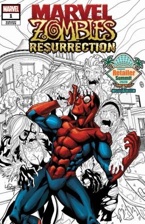 MARVEL ZOMBIES RESURRECTION #1 RETAILER SUMMIT 2020 VARIANT
