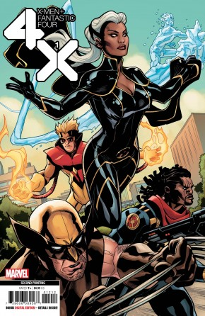 X-MEN FANTASTIC FOUR #1 (2020 SERIES) 2ND PRINTING
