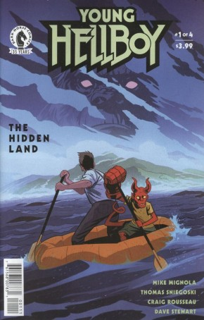 YOUNG HELLBOY THE HIDDEN LAND #1