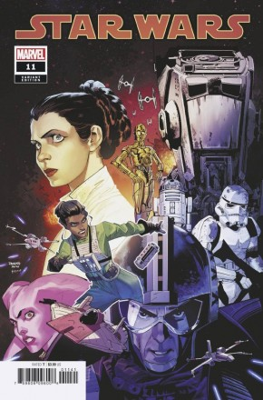 STAR WARS #11 (2020 SERIES) MORA 1 IN 25 INCENTIVE VARIANT
