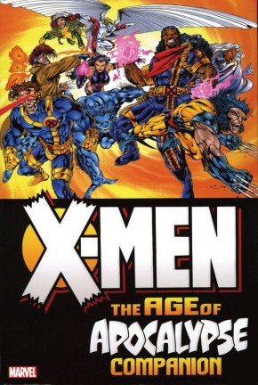 X-MEN AGE OF APOCALYPSE OMNIBUS COMPANION BRYAN HITCH DM VARIANT HARDCOVER