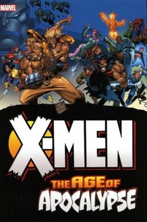 X-MEN AGE OF APOCALYPSE OMNIBUS JOE MADUREIRA DM VARIANT HARDCOVER