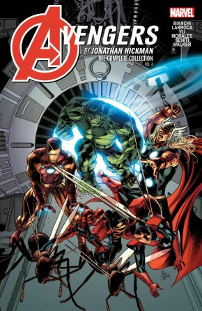 AVENGERS BY HICKMAN THE COMPLETE COLLECTION VOLUME 4 GRAPHIC NOVEL