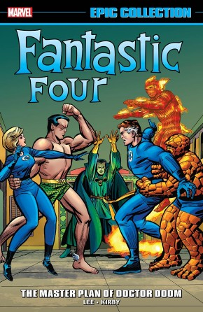 FANTASTIC FOUR EPIC COLLECTION THE MASTER PLAN OF DOCTOR DOOM GRAPHIC NOVEL