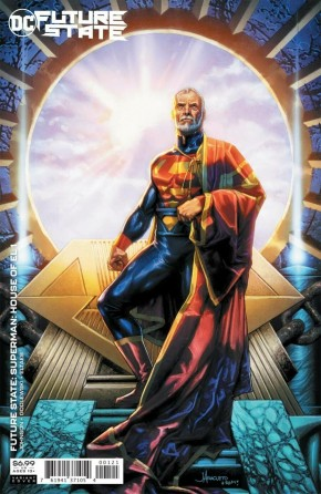 FUTURE STATE SUPERMAN HOUSE OF EL #1 JAY ANACLETO CARD STOCK VARIANT