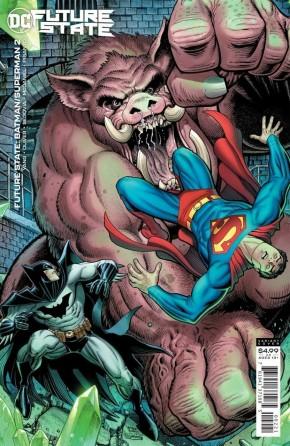 FUTURE STATE BATMAN SUPERMAN #2 ARTHUR ADAMS CARD STOCK VARIANT