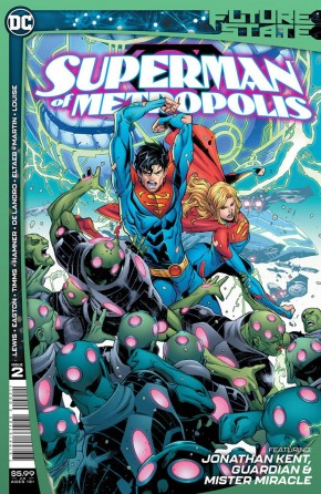 FUTURE STATE SUPERMAN OF METROPOLIS #2