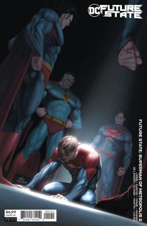 FUTURE STATE SUPERMAN OF METROPOLIS #2 INHYUK LEE CARD STOCK VARIANT