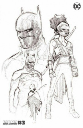 BATMAN BLACK AND WHITE #3 (2020 SERIES) 2ND PRINTING
